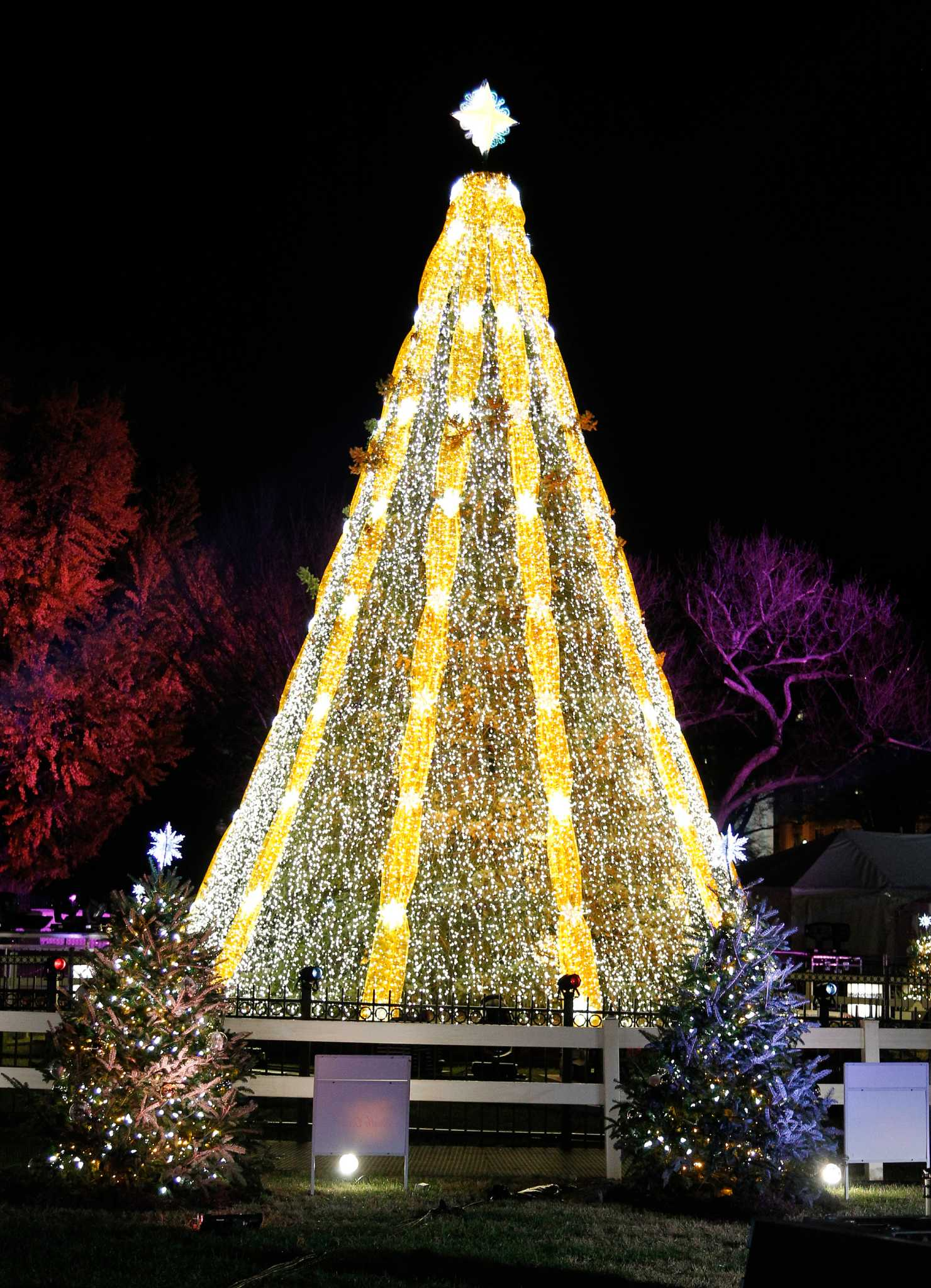 GE sets holiday trees aglow - Connecticut Post