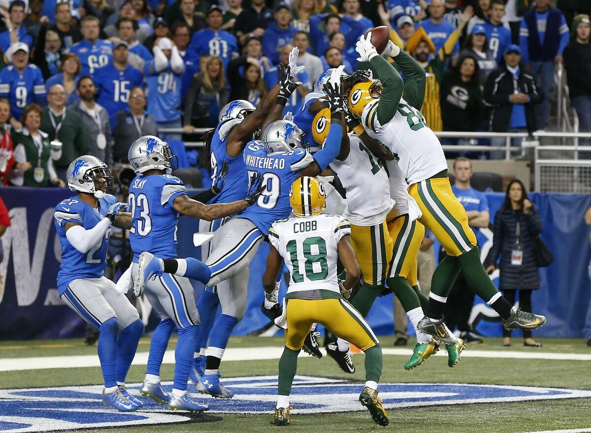 Lions at Packers: McClain - Packers Robertson - Packers Wilson - Packers Solomon - Packers Smith - Packers Creech - Packers
