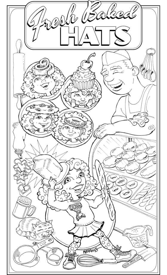 Coloring page for STAR section, Christmas Day 2015