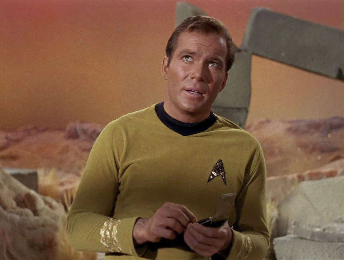The captain Whatever else Shatner has done, he will always be best remembered as Capt. Kirk.