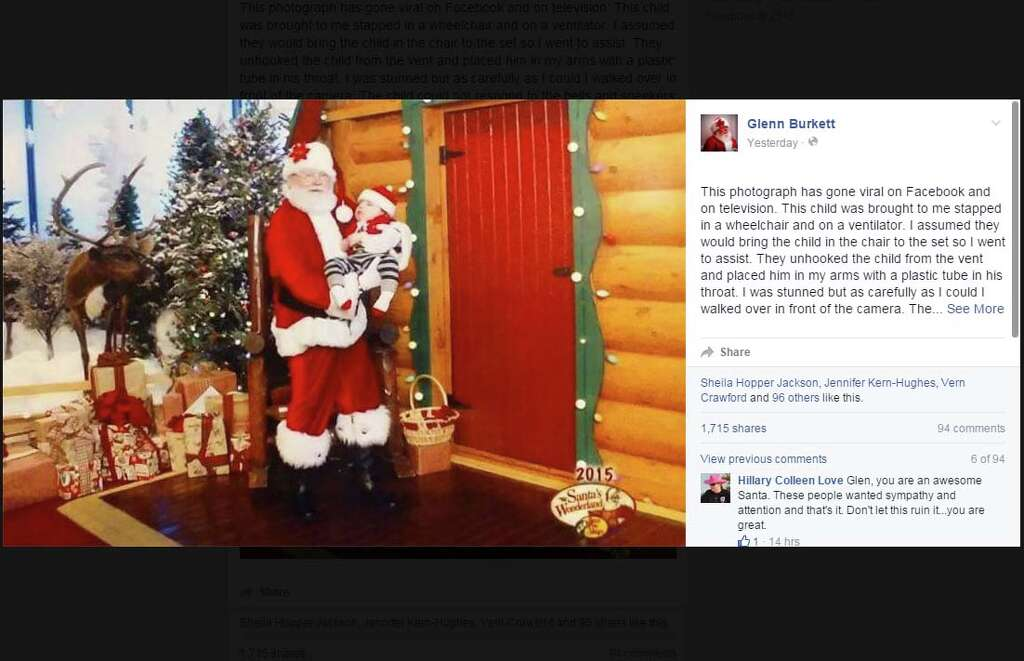 Santa embroiled in San Antonio's Bass Pro Shops controversy shares ...