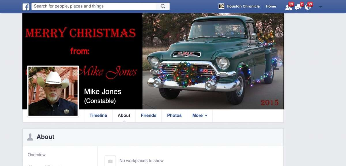 Constable Mike Jones issued a warning to residents on his Facebook page about Central American teens coming to Texas. Source: Facebook.com/Re-Elect-Constable-MIKE-JONES