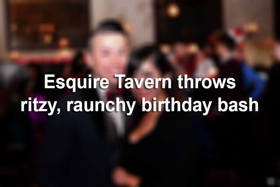Downtown's Esquire Tavern celebrated its birthday on the anniversary of Repeal Day with a burlesque show and flowing spirits. Here are the best photos from the stylish occasion. Photo: KBy Kody Melton, For MySA.com