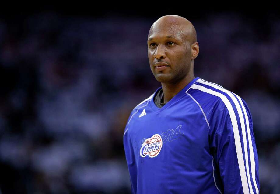 Former Los Angeles Clippers' star Lamar Odom was the most googled celebrity of the year. Photo: Marcio Jose Sanchez, STF / AP