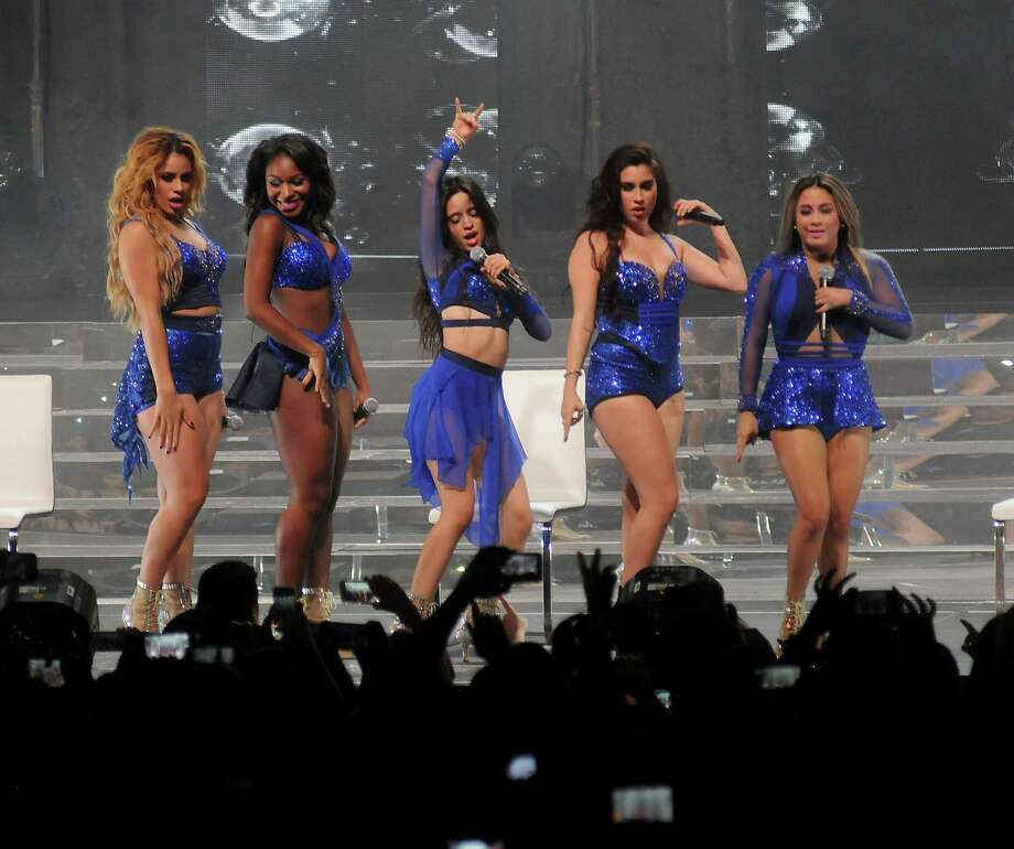 Fifth Harmony, including Normani Hamilton from Pearland and Ally Brooke Hernandez from San Antonio, perform in concert at Bayou Music Center Monday August 03, 2015.(Dave Rossman photo) Photo: Dave Rossman, Freelance / Freelance