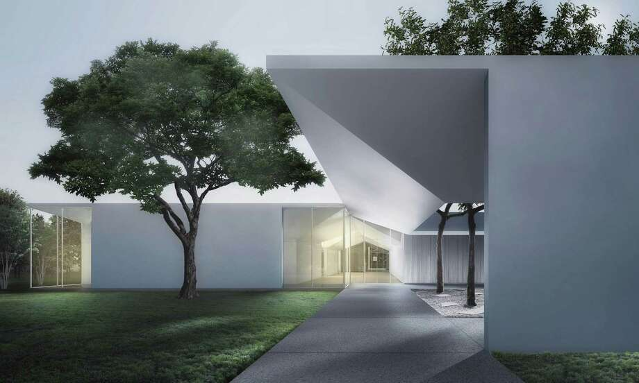 The roof of the Menil Drawing Institute resembles folded paper. Photo: Johnston Marklee / ONLINE_YES