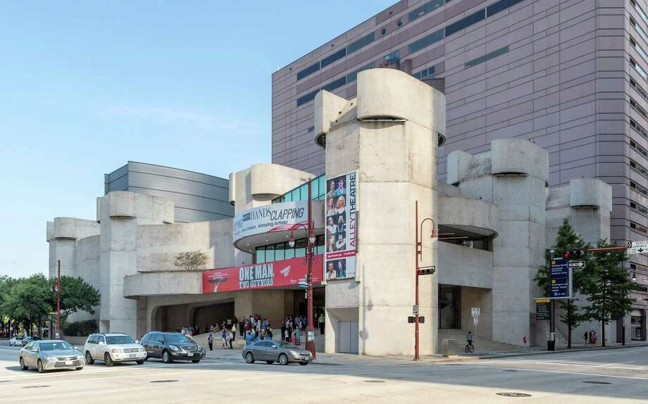 The Alley Theatre, 615 Texas, a recipient of a $125,000 grant from the National Endowment for the Arts. Photo: Craig Hartley, Freelance / Copyright: Craig H. Hartley