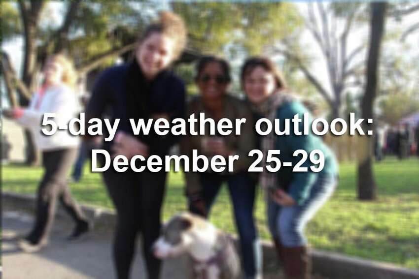 This is what the next few days look like for San Antonio, according to the National Weather Service.