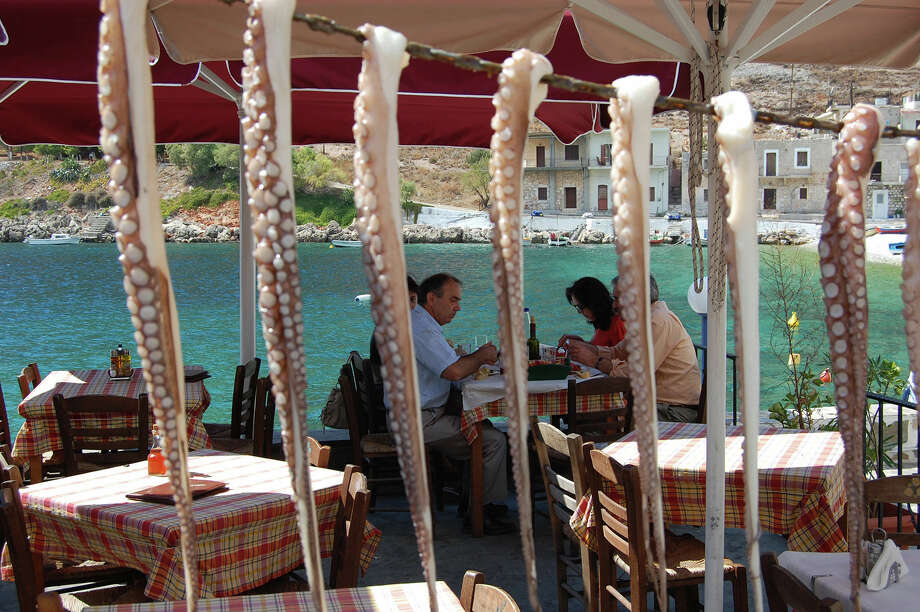 In seaside tavernas throughout Greece, the seafood is fresh as can be. Photo: Rick Steves / © Rick Steves Europe  (www.ricksteves.com)