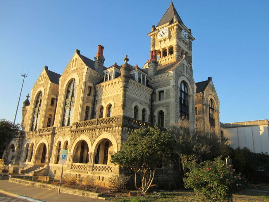 The Victoria County Courthouse on the main plaza was designed by James Riely Gordon. Photo: David Hendricks