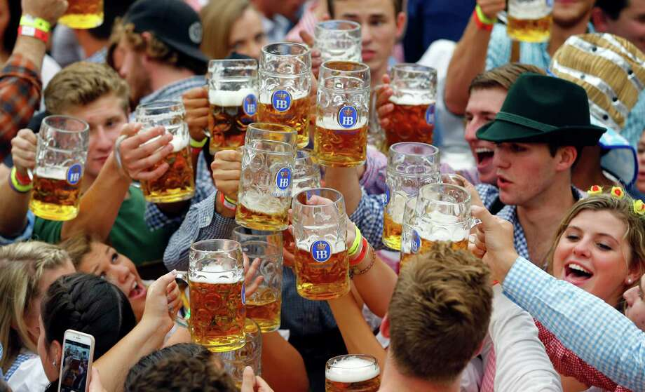 In 2016, Germany marks 500 years since the passage of a law designed to ensure the purity of German beer.  Photo: Matthias Schrader, STF / AP
