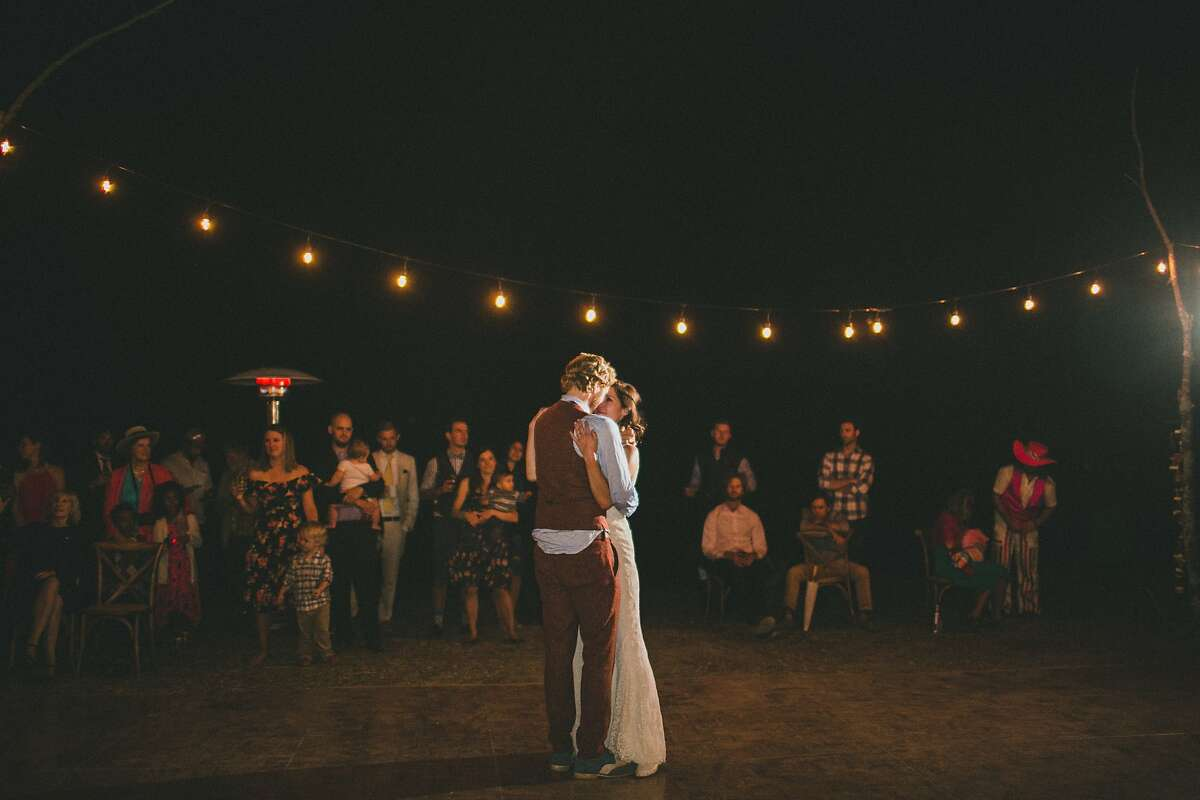 Tyler MacNiven and Kelly Hennigan's first dance at their Sept. 26, 2015 wedding.