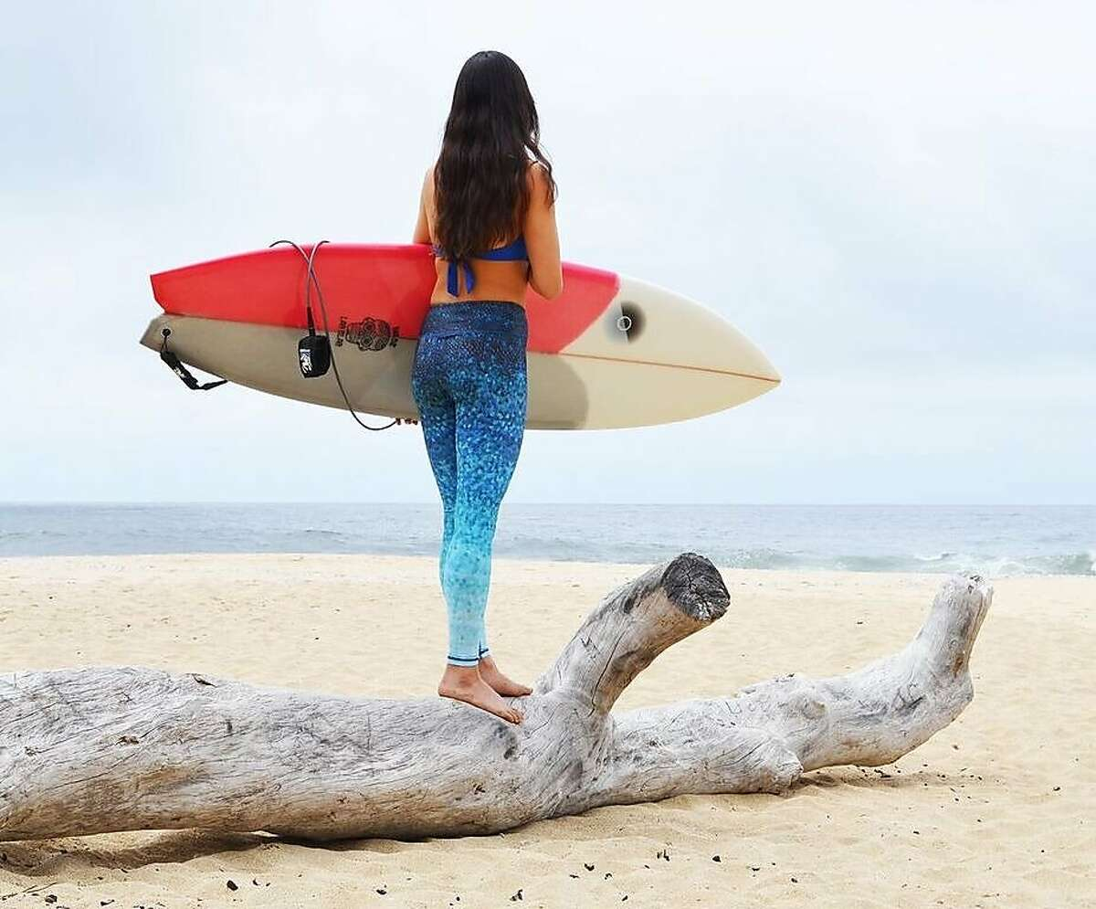 Robyn Tosick, along with partners Angeline Kung and Rachel Frey, have launched new apparel brand Okiino to fill a need for surf leggings.
