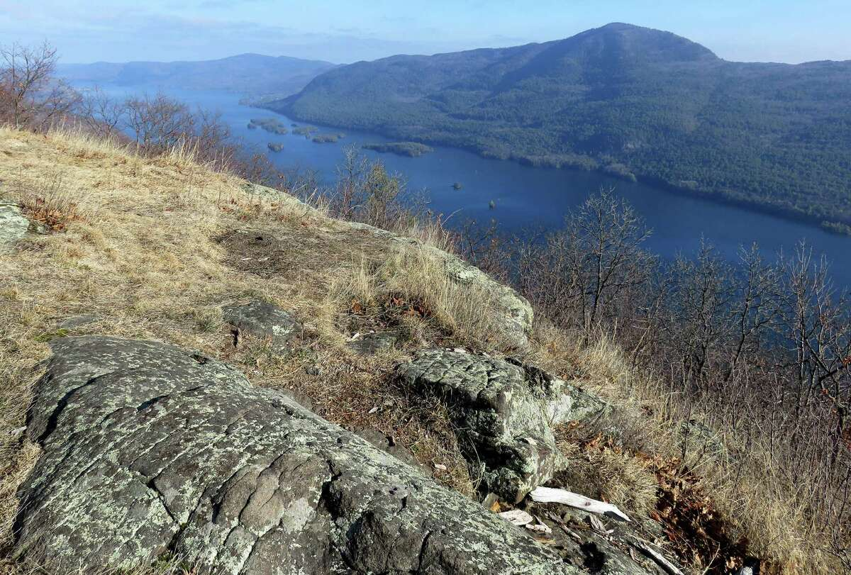 Lake George and Black Mountain from French Point Mountain. Photo by Herb Terns