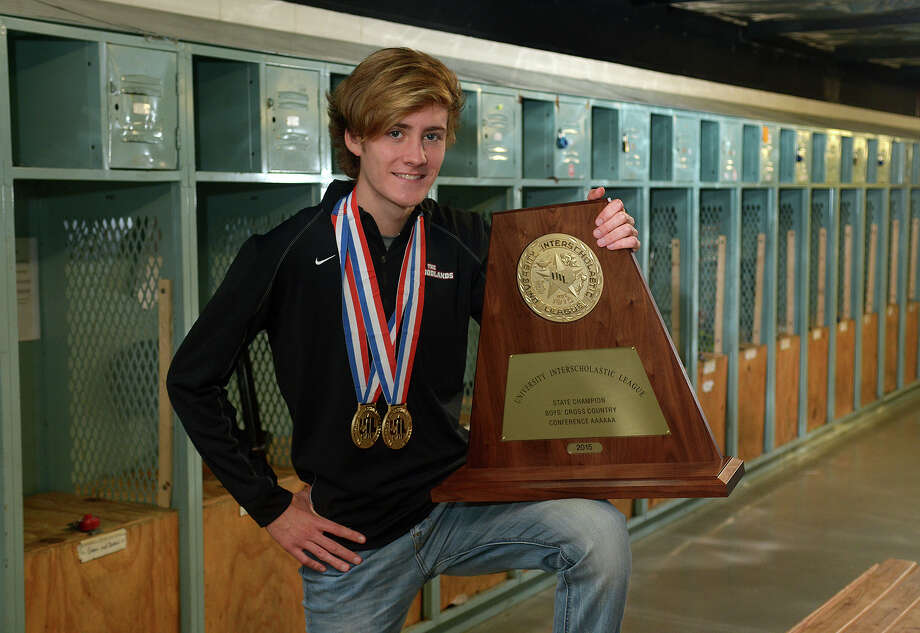 Senior Daniel Golden usually led the way during The Woodlands' banner year in which the Highlanders captured district, regional and state titles. Photo: Jerry Baker, Freelance