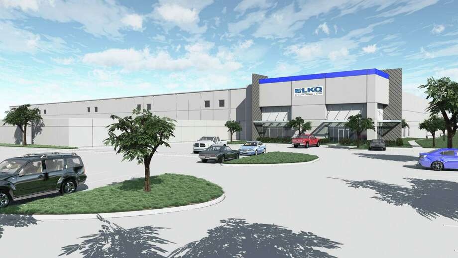 Nelson Commercial Properties and Golden Shamrock Realty are developing a build-to-suit distribution center for Keystone Automotive Industries. The 201,235-square-foot facility at 1101 Richey Road was designed by architecture firm Munson Kennedy Partnership. Arch-Con Corp. is the general contractor. Photo: Munson Kennedy Partnership