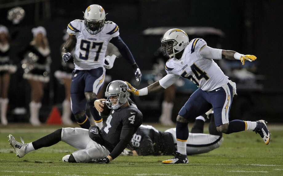Raiders Win In Ot As Charles Woodson Says Goodbye Sfgate