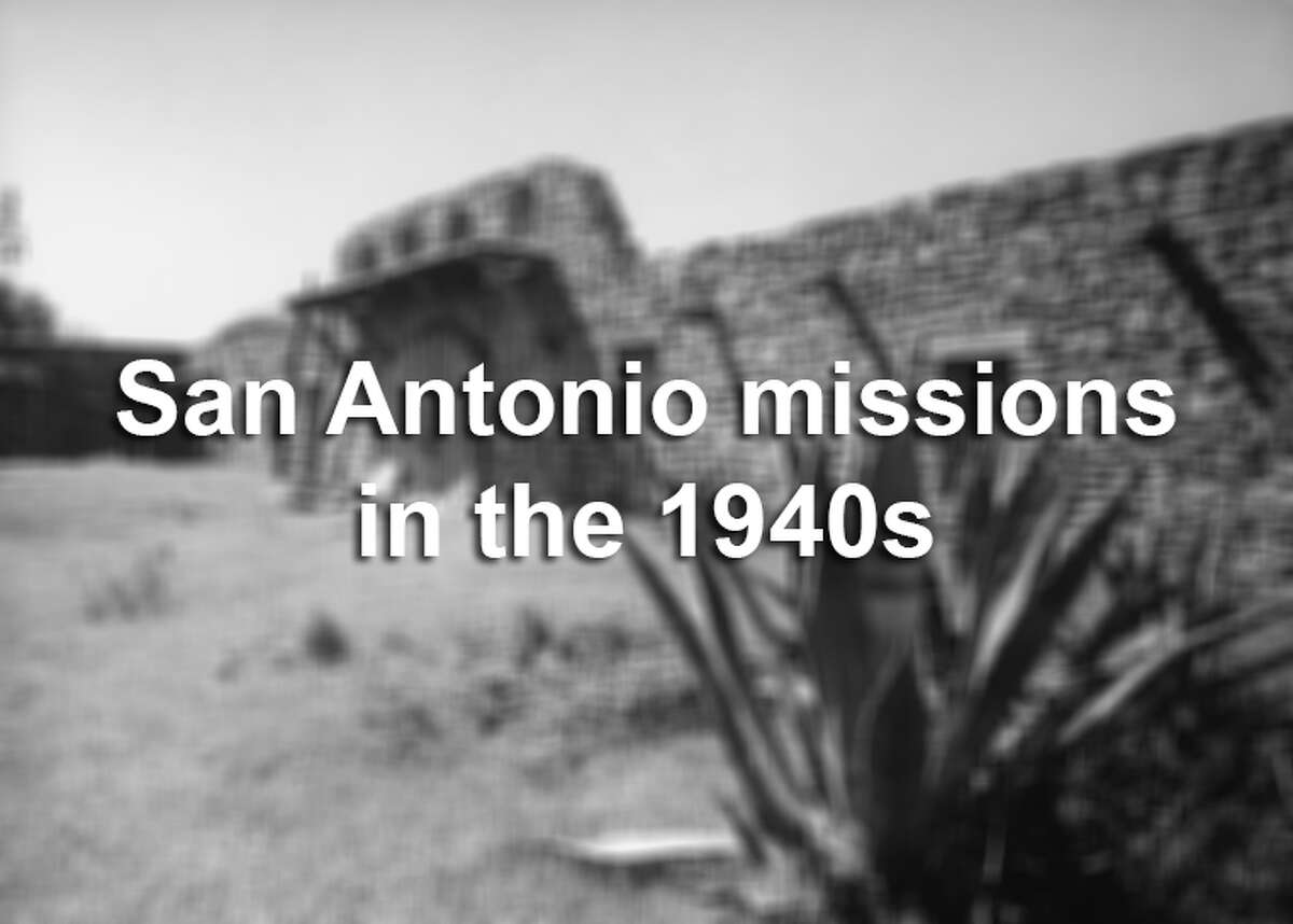See what life was like around the San Antonio missions in the 1940s through these Time & Life photos.