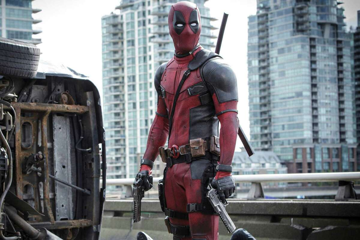"""""""Deadpool"""" What it's about:Lethal mercenary Wade Wilson (Ryan Reynolds) undergoes experimental surgery to treat his newly diagnosed cancer. He emerges with an array of super-powers, turning him into Deadpool, only none of his powers help him with his motor mouth and bawdy sense of humor. Release date: February 12"""
