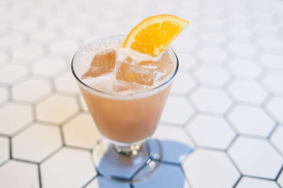 The Alibi adds orange marmalade to bourbon. Photo: Jen Fedrizzi, Special To The Chronicle