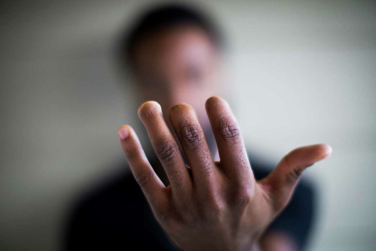 Sabien Colvin, 23, a Sam Houston college student who worked in production at Blue Bell from 2008 to 2013, was disassembling a machine for cleaning when it unexpectedly turned on, slicing off parts of three fingers on his left hand. After his parents complained to OSHA, the agency delivered a scathing report and fined the company for having virtually no program for locking out machines during maintenance, a federal requirement since 1987. Colvin received a couple thousand dollars in worker's compensation, but nothing else from Blue Bell. Tuesday, Sept. 1, 2015, in Huntsville.