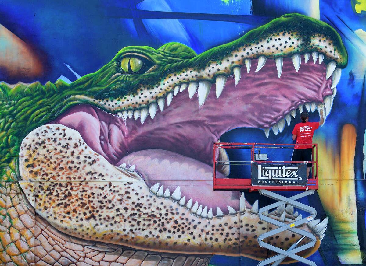Virtual tour: Houston's cool street art The University of Houston-Downtown's