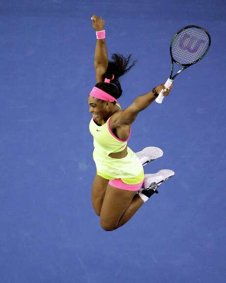 Serena Williams got a jump-start on what turned out to be special year for the American tennis superstar when she won the Australian Open in January. Photo: Lee Jin-man, STF / AP