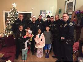 Fremont's midnight patrol officers bring joy to a family after a burglar stole their Christmas presents.