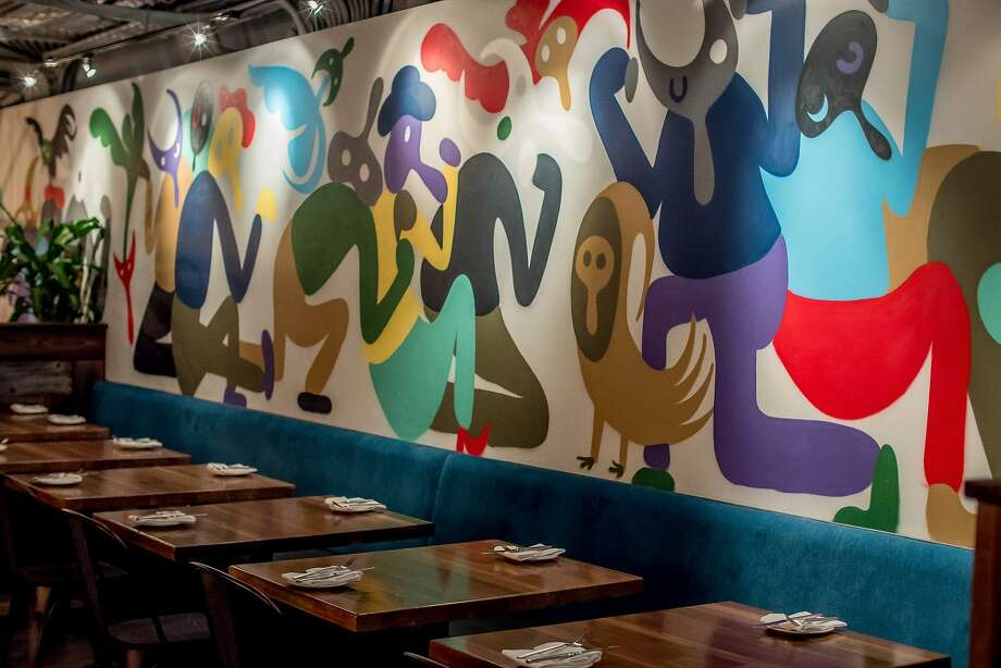 The mural at Nostra Spaghetteria in San Francisco. Photo: John Storey, Special To The Chronicle