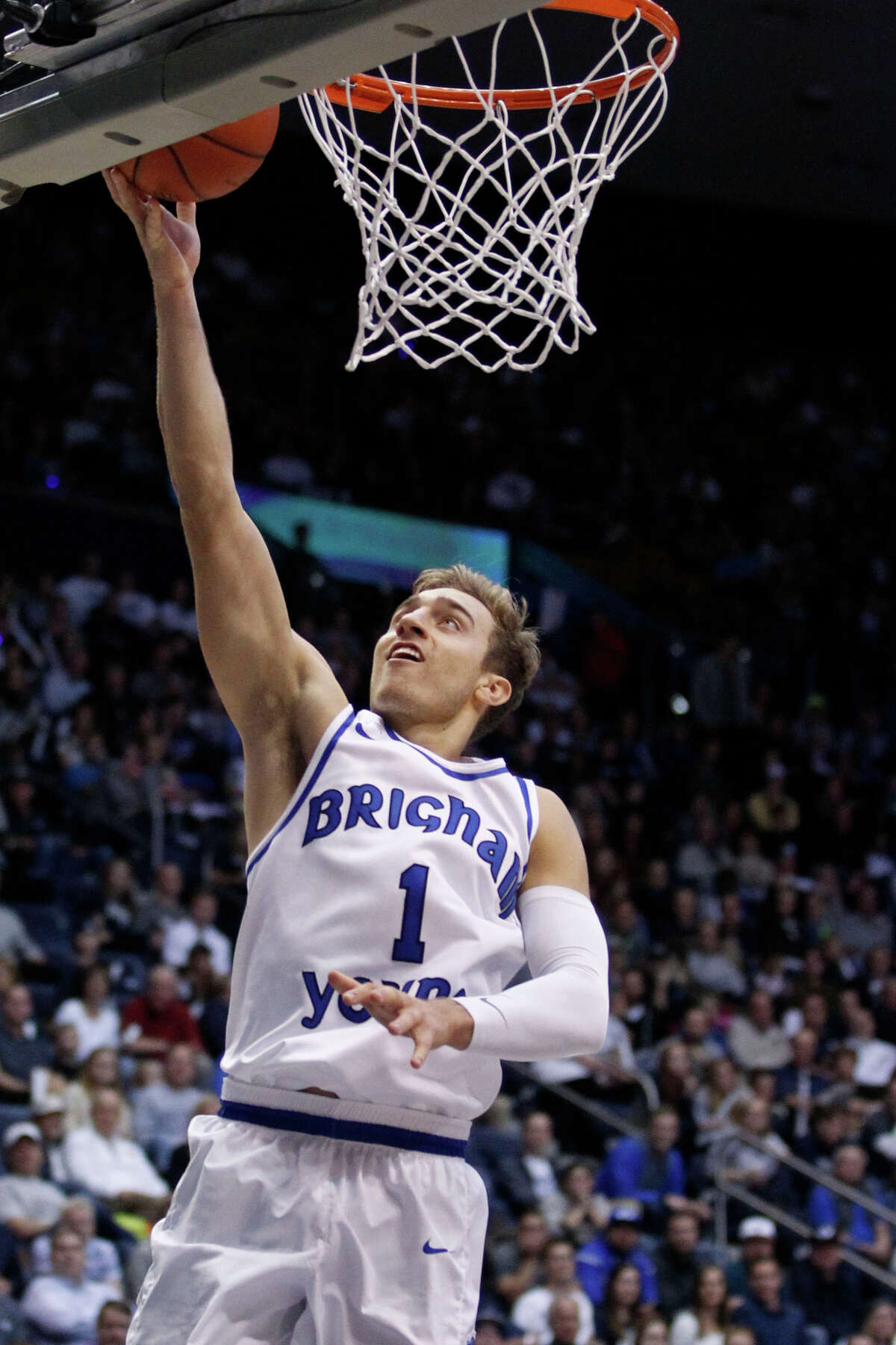 3. BYU guard Chase Fischer scored 41 points to go with five rebounds and four assists as the Cougars defeated New Mexico on Wednesday. On Friday, he led BYU with 26 points in a win over Northern Iowa.