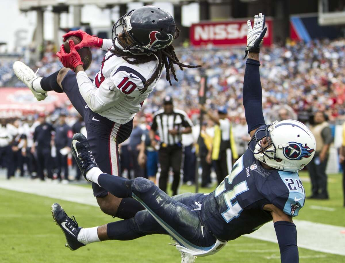 Wide receiver After catching 111 passes for 1,521 yards and 11 touchdowns, there's no telling what DeAndre Hopkins (10) can accomplish if Brock Osweiler plays well. Jaelen Strong, who plays in the slot, was the most improved player in the offseason. Rookie Will Fuller, the fastest player on the team, should start opposite Hopkins. He's a legitimate deep threat. Rookie Braxton Miller has a lot to learn but could become a dynamic weapon in the slot. Veterans Cecil Shorts and Keith Mumphery also figure into the picture. Grade A-