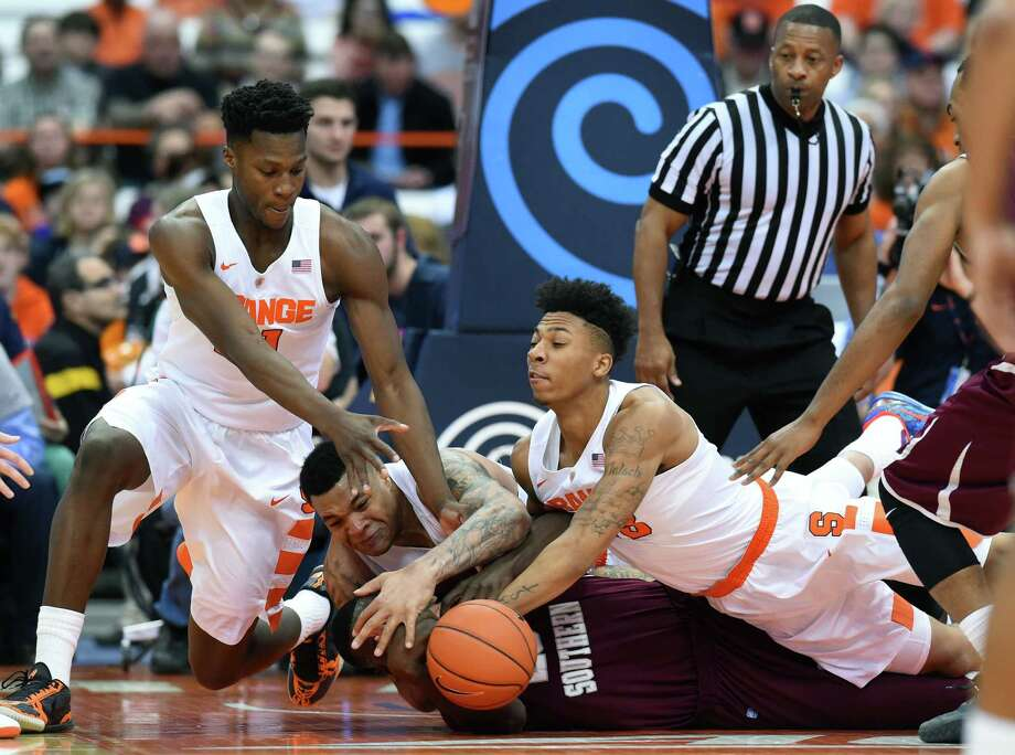 Texas Southern didn't have the manpower against host Syracuse as five Orange players scored in double figures en route to an 80-67 victory in the final tuneup before conference play begins. Photo: Rich Barnes, Stringer / 2015 Getty Images