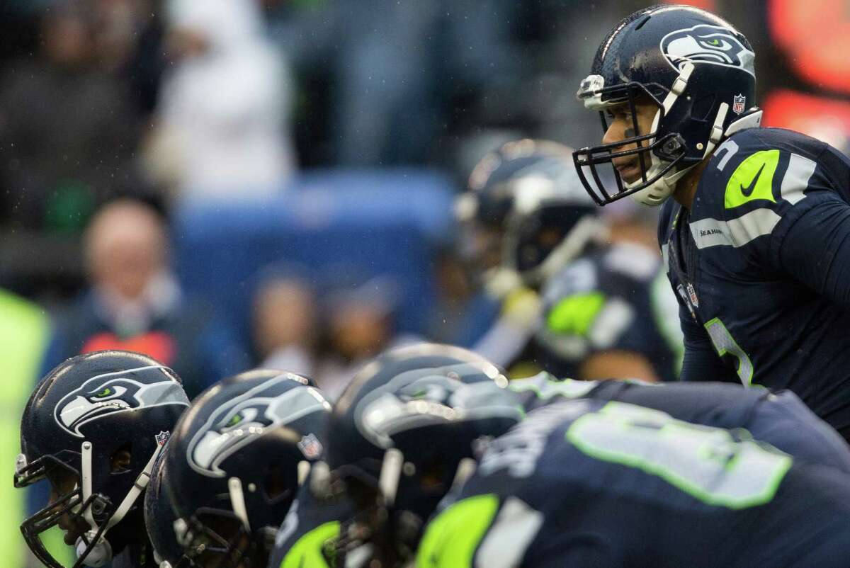 QUARTERBACK Under contract: Russell Wilson (pictured), Phillip Sims (futures)Free agent: Tarvaris Jackson (unrestricted)