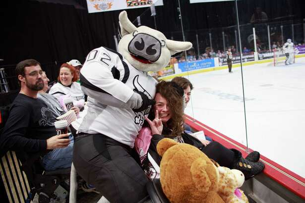 Hockey fans and their teddy bears packed the AT&T Center for the San Antonio Rampage match against the Texas Stars and the annual Teddy Bear Toss presented by H-E-B on Sunday, December 27, 2015.