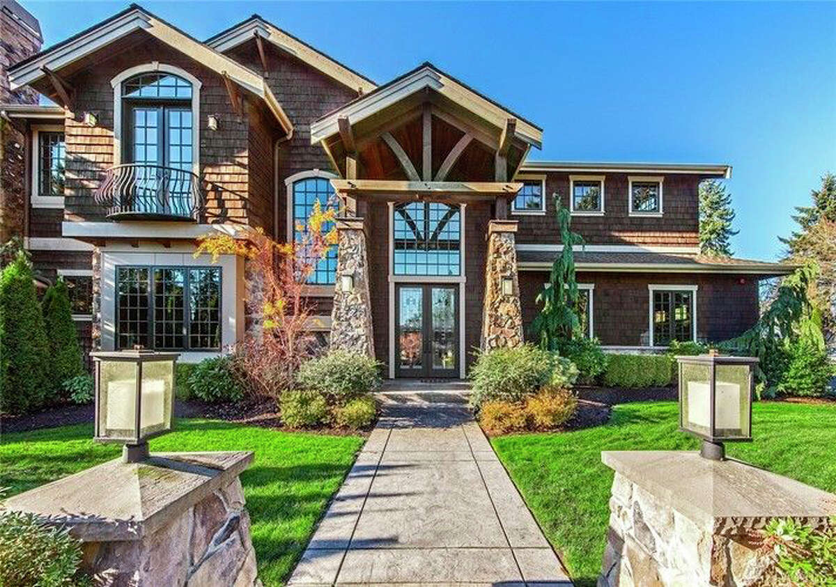 This large home in Clyde Hill has more than 4,000 square feet. The full listing is here.