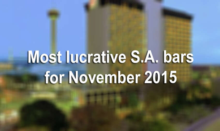 Prominent hotels and event centers were among Texas businesses with the highest total drink sales in November.Click through the slideshow to view the top 20 list for Bexar County.