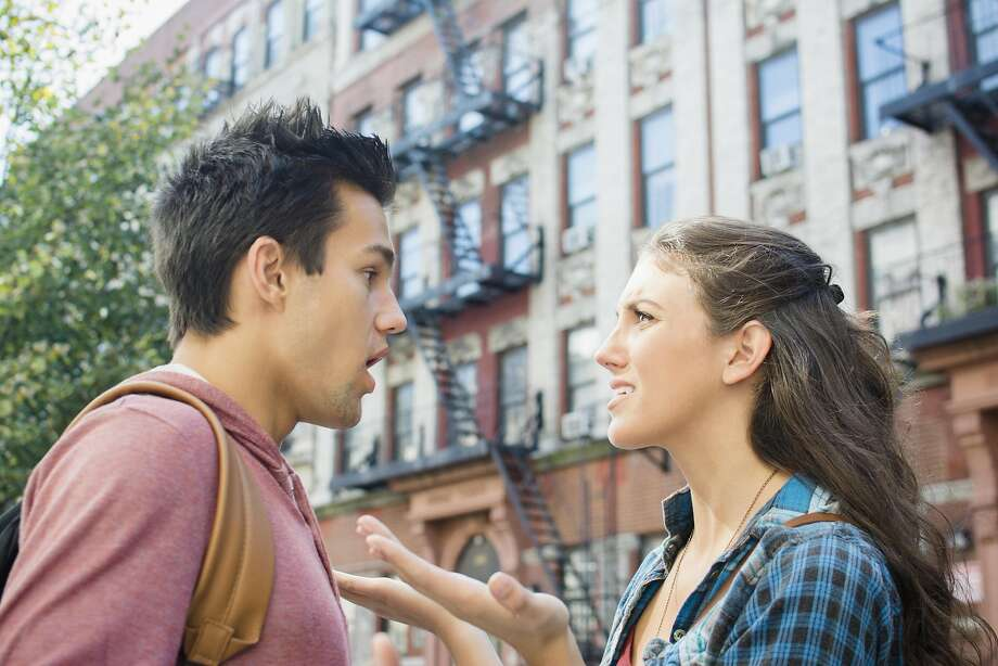 A young woman wonders if her current boyfriend is the one. Photo: Jamie Grill, Getty Images/Tetra Images RF