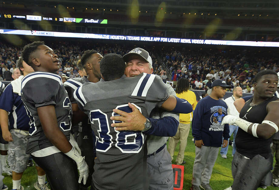 West Orange-Stark's head coach Cornel Thompson is the 2015 Super Gold football coach of the year.  