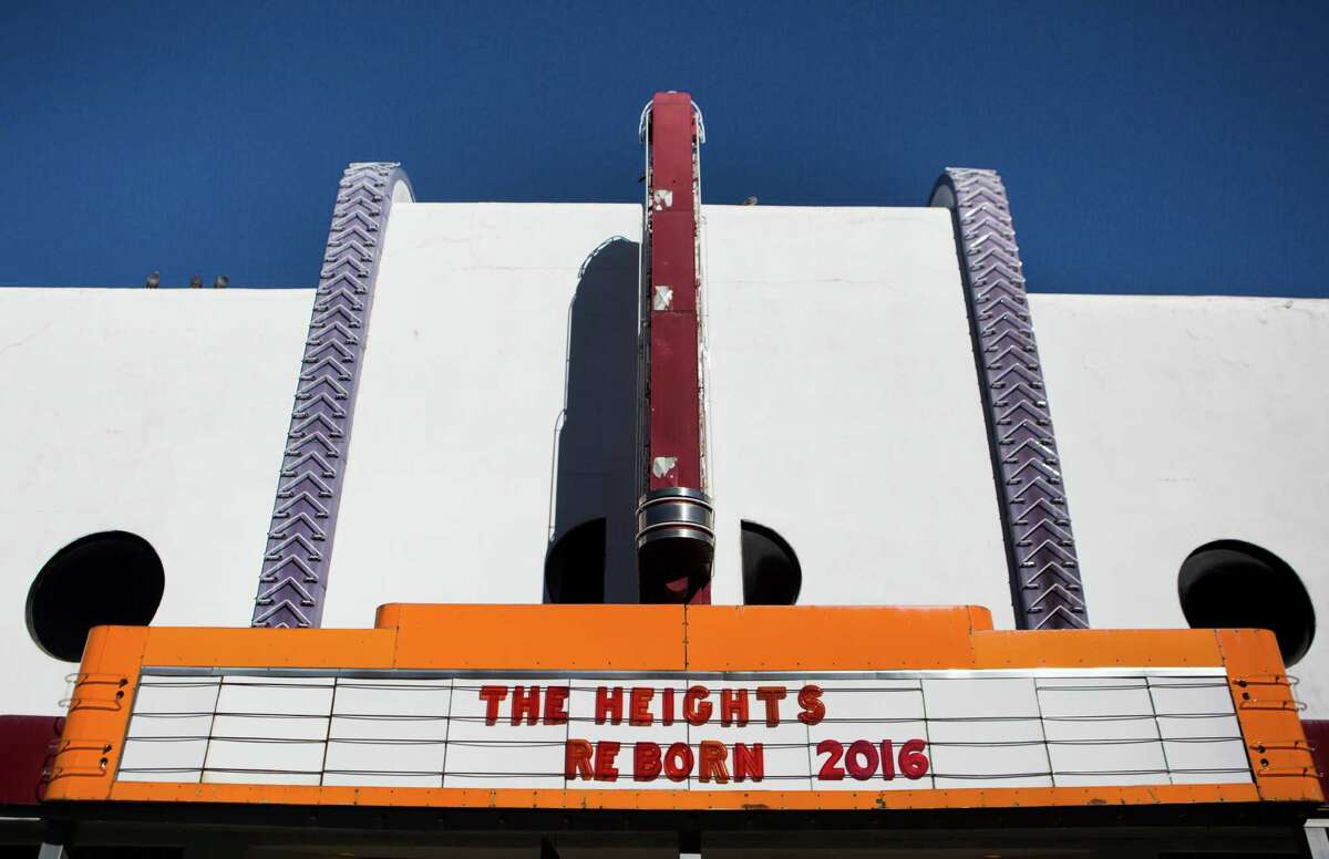Heights theatre was first built in 1923 as a movie theater, now the 7,058-square-foot building is currently now being renovated as a multi-use entertaiment venue. Friday, Dec. 18, 2015, in Houston. ( Marie D. De Jesus / Houston Chronicle )