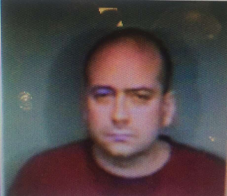 Patrick Straub, 38, of Shelter Rock Road in Danbury, was charged Sunday with illegally carrying a firearm while under the influence of alcohol and breach of peace. Photo: Contributed / Connecticut State Police
