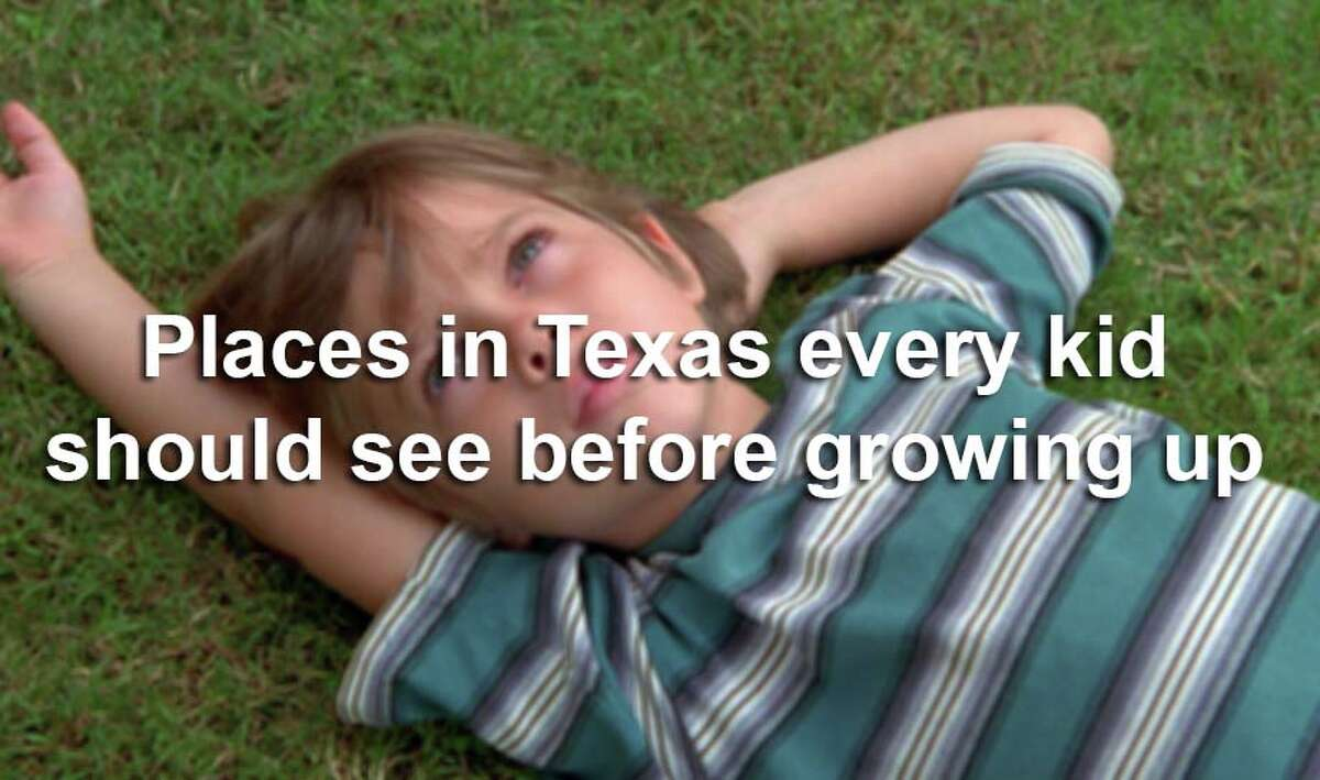 What are some places you remember as a kid? If you're a parent, help your little Texas guy or gal form some memories of their own by visiting these great spots in our state.