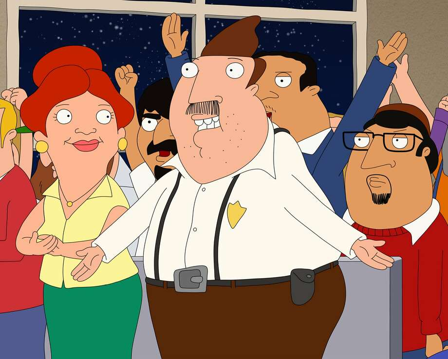 "Janice and Bud Buckwald in the new Fox animated sitcom ""Bordertown.""  Photo: Fox Network"
