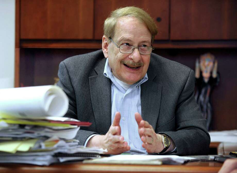 Dennis Elpern, Danbury's long-time city planner, is retiring. Photo Thursday, Oct. 1, 2015. Photo: Carol Kaliff / Hearst Connecticut Media / The News-Times