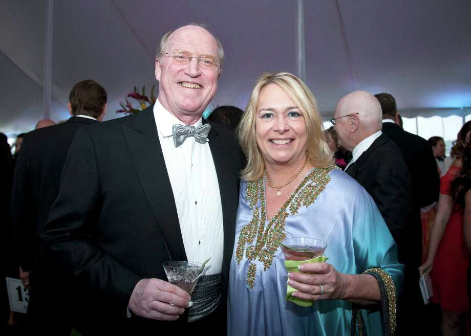 Philip Matthews and Terry Rogers Matthews were among the approximately 360 supporters who turned out for the Bruce Museum's Renaissance Ball in 2011. Photo: Contributed Photo / ST / Greenwich Citizen