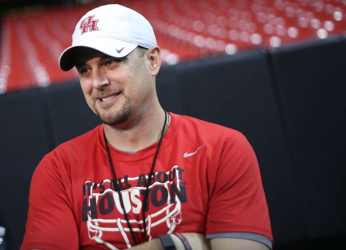 UH coach Tom Herman expressed his displeasure with reports linking him to the Baylor job Monday. Click through the gallery to revisit the timeline of Herman's tenure at UH.