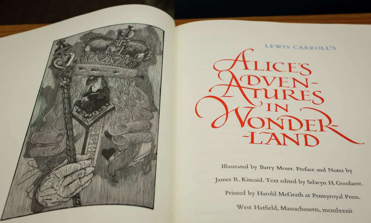 """Adaptation Carroll didn't, however, come up with """"Alice in Wonderland,"""" though that's what his work came to be known as."""