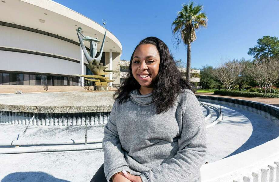 """Christina Letsinger, a communi-cations major at TSU, says she started an online student movement to draw attention to problems and make the school better. """"We love our school."""" Photo: Craig Hartley, Freelance / Copyright: Craig H. Hartley"""