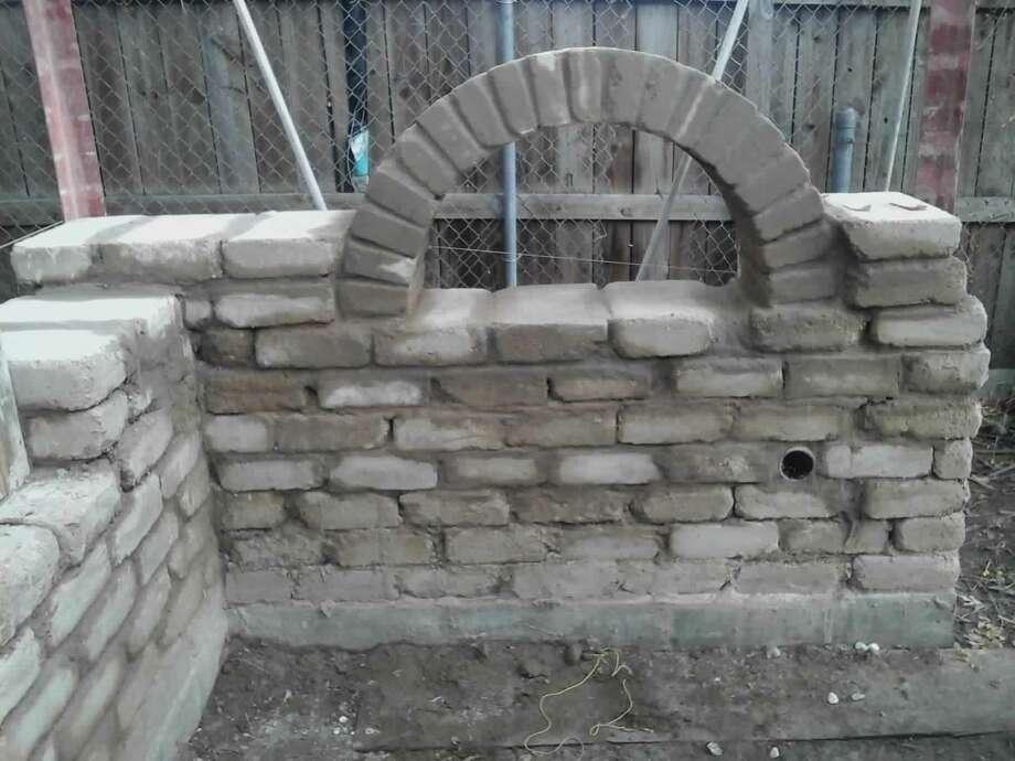Compressed earth blocks will make up a new studio for the women's art cooperative at El Rinconcito de Esperanza at 816 S. Colorado St. on the near West Side. Photo: Courtesy Photo / Courtesy Photo