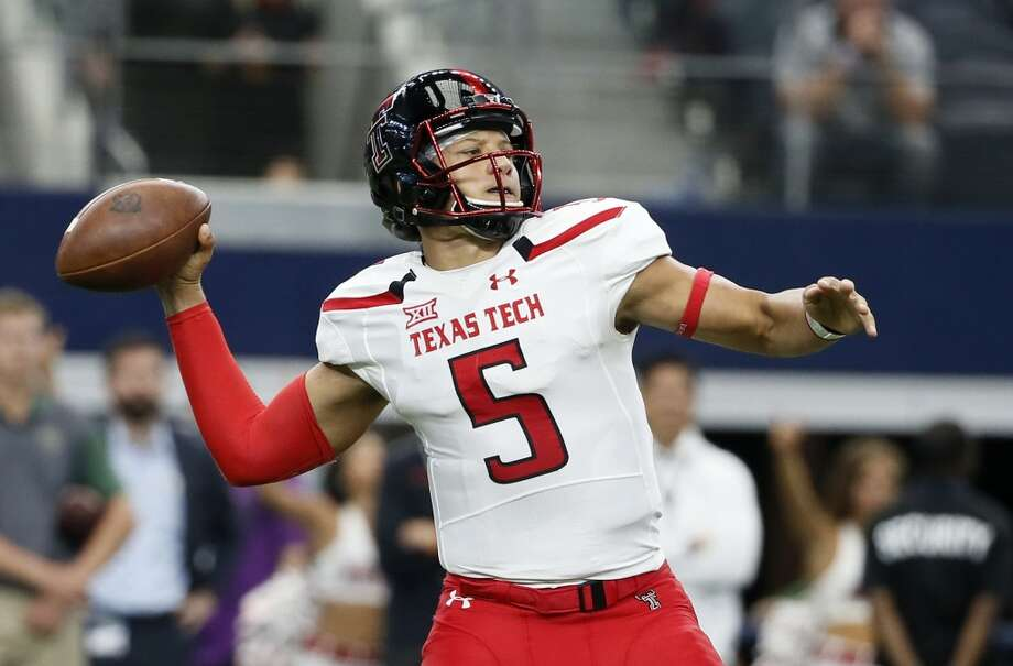 Texas Tech quarterback Patrick Mahomes is taking an official visit with the Texans, according to league sources not authorized to speak publicly. Photo: Tony Gutierrez, Associated Press