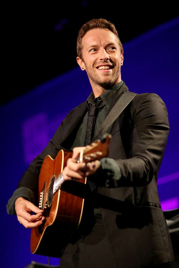 What famous people will be in San Francisco for Super Bowl 50? Coldplay's Chris Martin, who is playing the Super Bowl halftime show, will obviously be around. Photo: Christopher Polk